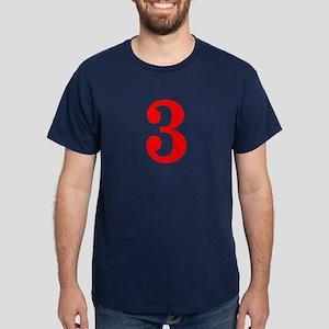 RED #3 Dark T-Shirt