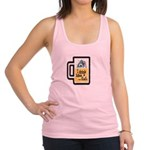 I Drink Like a Fish Racerback Tank Top