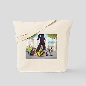 Owned By Yorkies Tote Bag