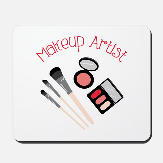 Makeup Artist Mousepad