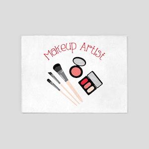 Makeup Artist 5'x7'Area Rug