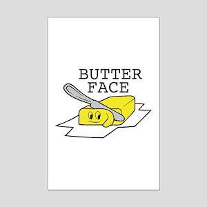 Butter Face Mini Poster Print