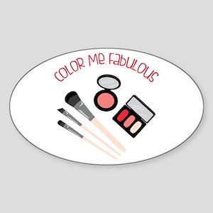Color Me Fabulous Sticker
