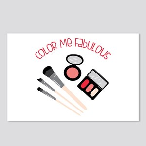 Color Me Fabulous Postcards (Package of 8)