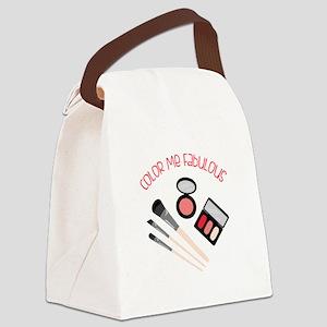Color Me Fabulous Canvas Lunch Bag