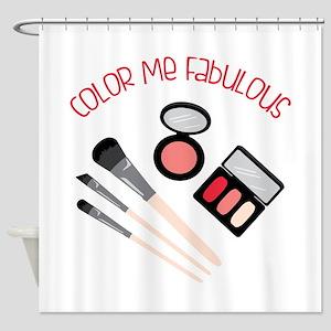 Color Me Fabulous Shower Curtain
