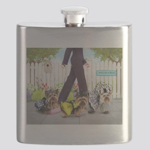 Owned By Yorkies Flask