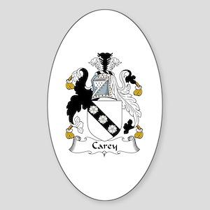 Carey Oval Sticker