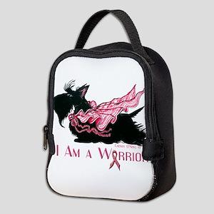 Scottish Breast Cancer Warrior Neoprene Lunch Bag
