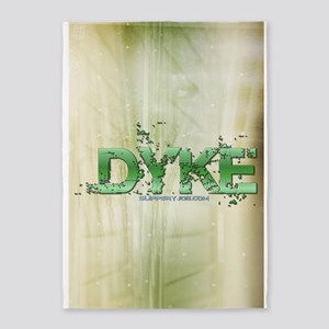 dyke_6 5'x7'Area Rug