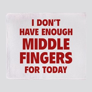 I Don't Have Enough Middle Fingers For Today Stadi