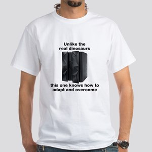 Mainframes Adapt And Overcome White White T-Shirt