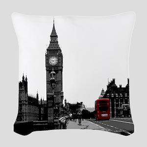 London Woven Throw Pillow