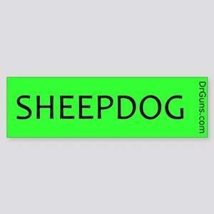 SHEEPDOG-GRN Bumper Sticker