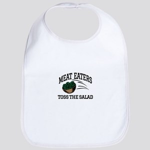 Meat Eaters Toss The Salad Bib