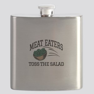 Meat Eaters Toss The Salad Flask