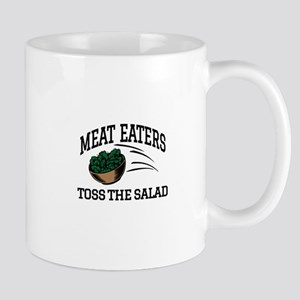 Meat Eaters Toss The Salad Mugs
