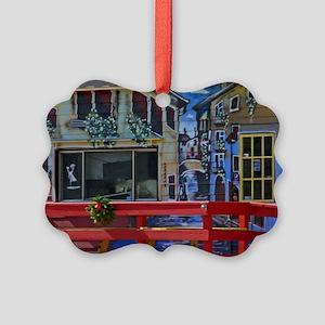Maine Italian Cafe Picture Ornament