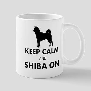 SHIBA ON Mugs