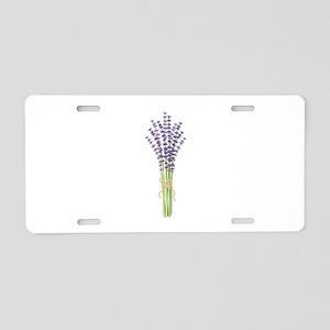 Bushel of Lavender Aluminum License Plate