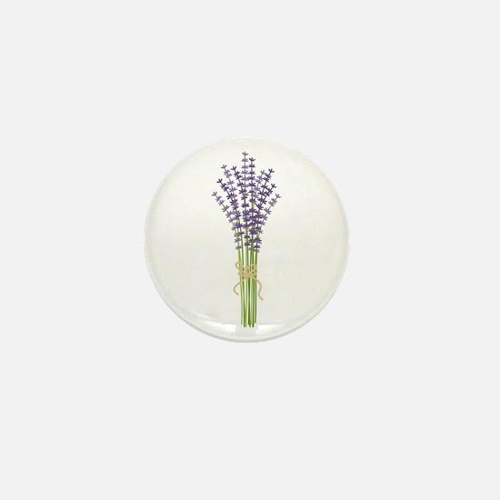Bushel of Lavender Mini Button