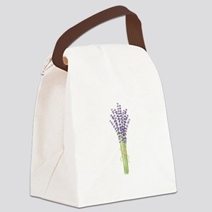 Bushel of Lavender Canvas Lunch Bag