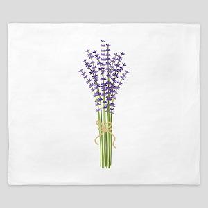 Bushel of Lavender King Duvet