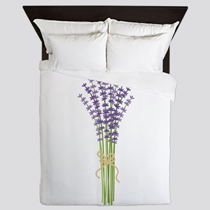 Bushel of Lavender Queen Duvet