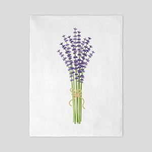 Bushel of Lavender Twin Duvet