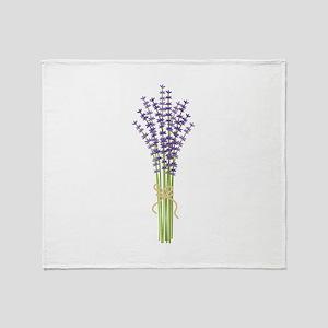 Bushel of Lavender Throw Blanket