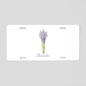 Lavender Aluminum License Plate