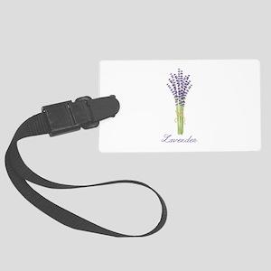 Lavender Luggage Tag