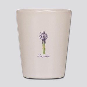 Lavender Shot Glass
