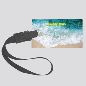 Coming And Going Large Luggage Tag