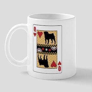 Queen Pug Mug