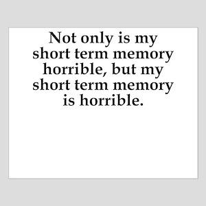 Short Term Memory Posters