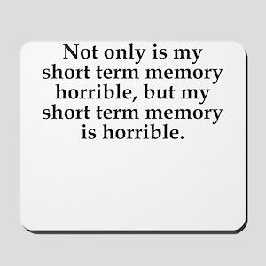 Short Term Memory Mousepad