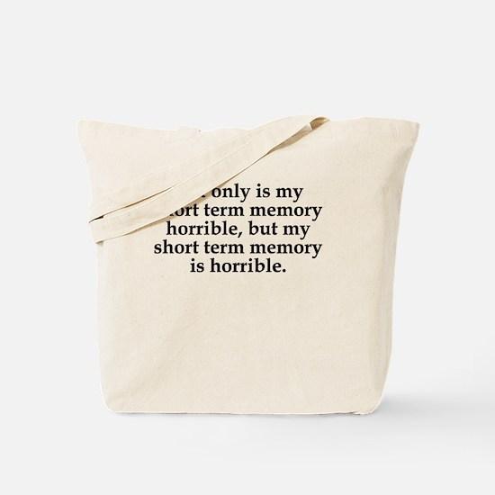 Short Term Memory Tote Bag