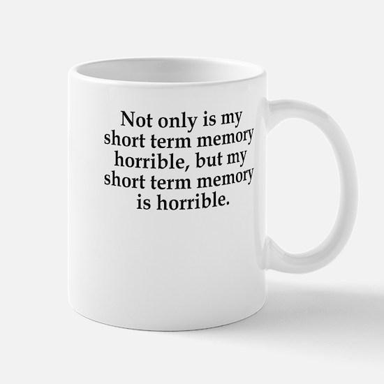 Short Term Memory Mugs