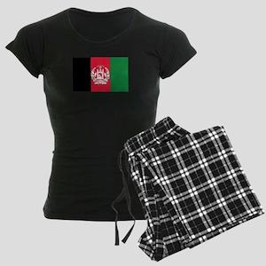 Flag of Afghanistan Women's Dark Pajamas