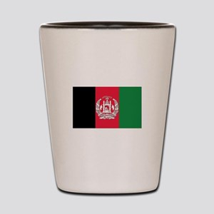 Flag of Afghanistan Shot Glass