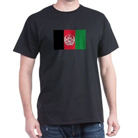 Flag of Afghanistan T-Shirt