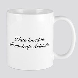 Plato and Aristotle Mug