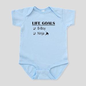 B-Boy Ninja Life Goals Infant Bodysuit