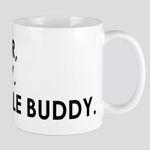 DEAR LIVER, ITS FRIDAY. SORRY LITTLE BUDDY Mugs
