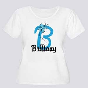 Personalized Women's Plus Size Scoop Neck T-Shirt