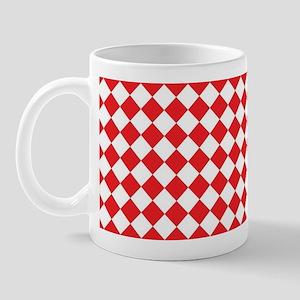 RED HARLEQUIN Mug