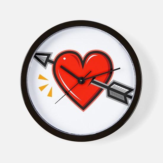 HEART_ARROW.png Wall Clock