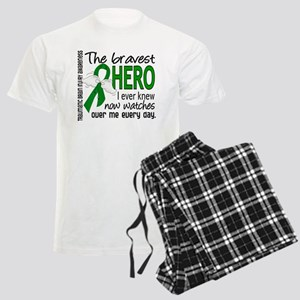 Bravest Hero I Knew TBI Men's Light Pajamas