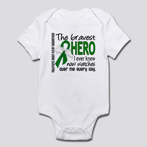 Bravest Hero I Knew TBI Infant Bodysuit